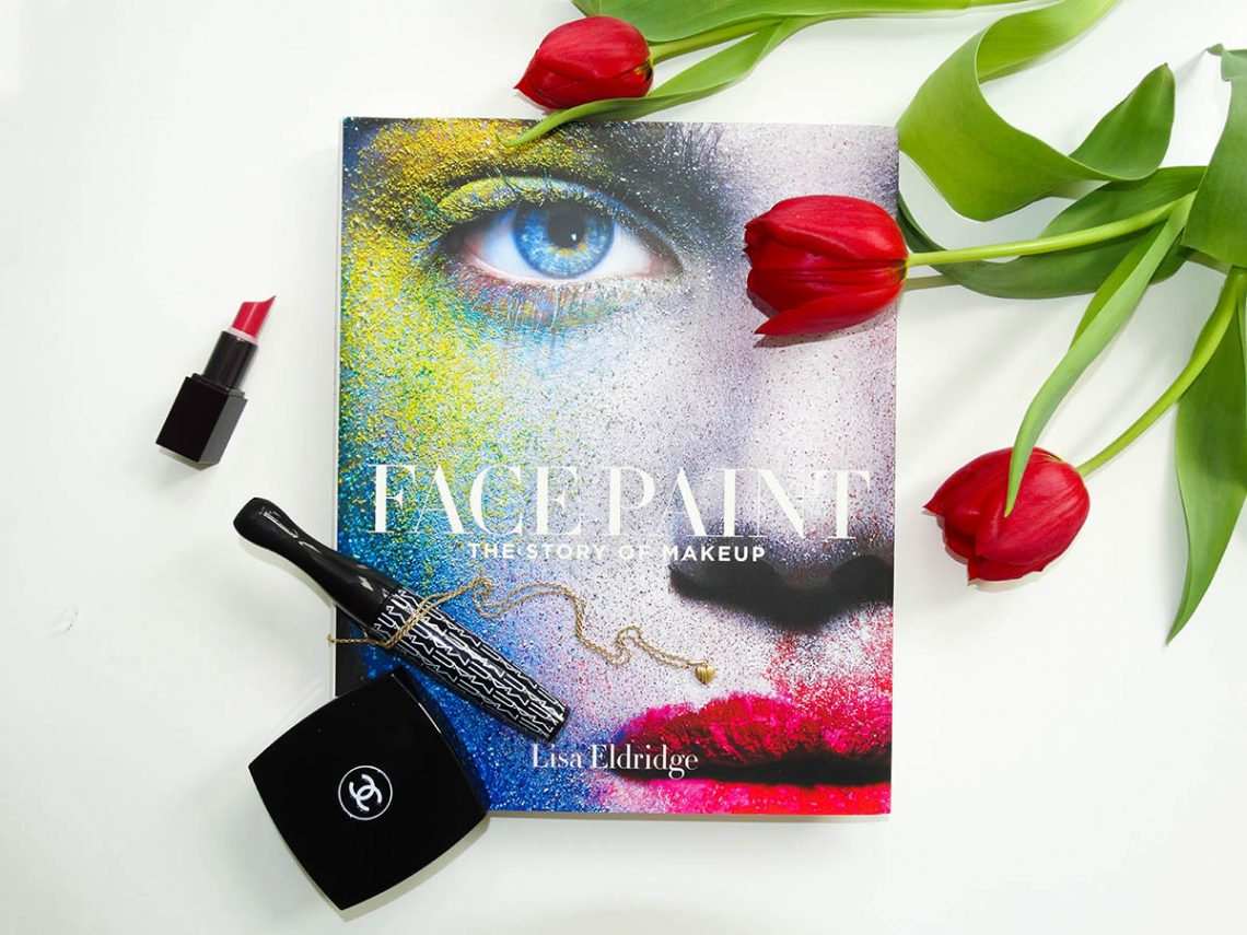 Picture of Face Paint by Lisa Eldridge for the review of the book