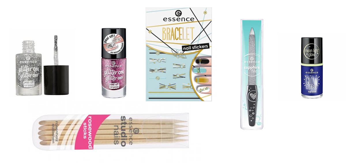 The nail items in the Essence Advent Beauty Calendar 2020