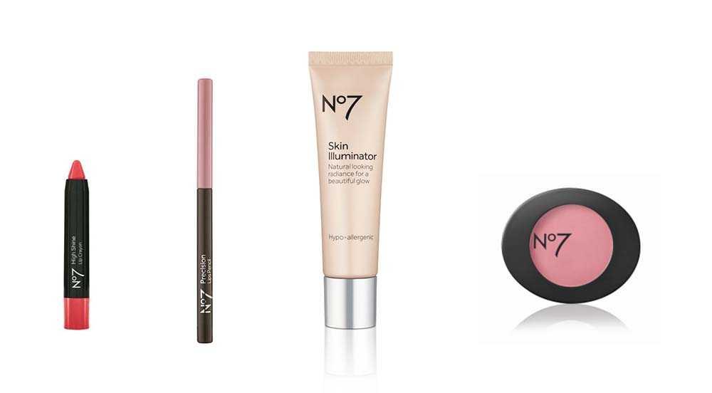 makeup in the no7 beauty advent calendar 2020