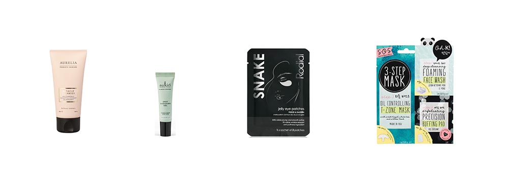 cleansers and masks in the latest in beauty award winners beauty advent calendar 2020