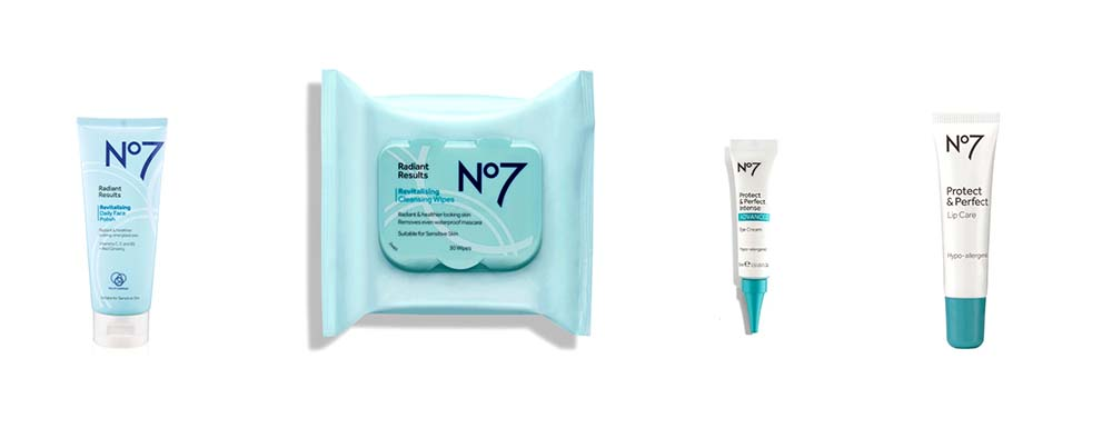 skincare in the no7 beauty advent calendar 2020