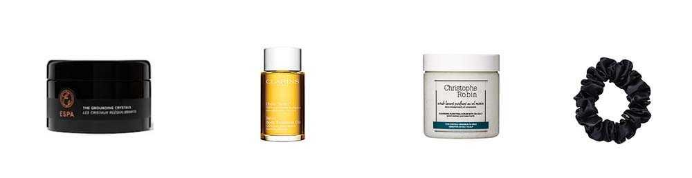 hair body and bath items in the john lewis beauty advent calendar