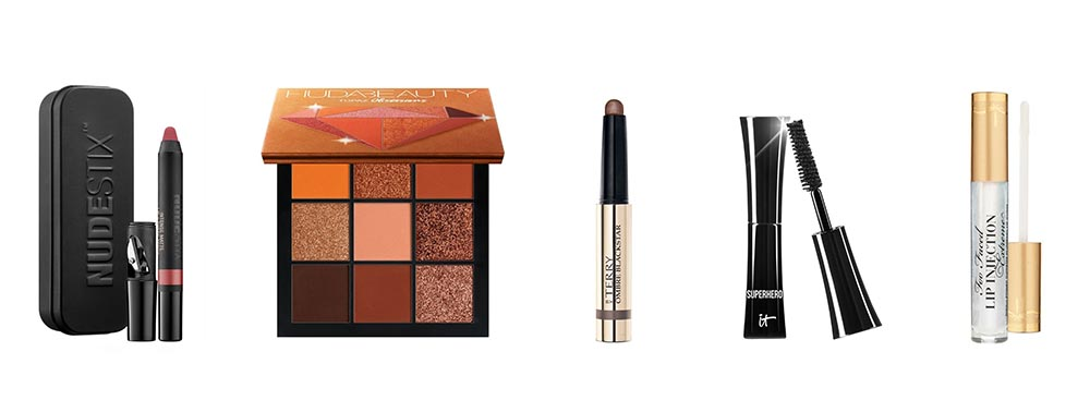 the makeup items in the cult beauty advent calendar 2020
