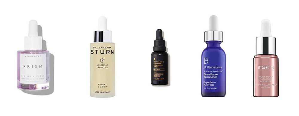 skincare serums in the cult beauty advent calendar 2020