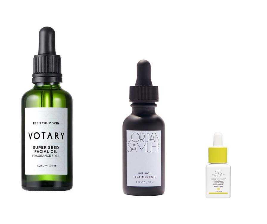 facial oils in the cult beauty advent calendar 2020