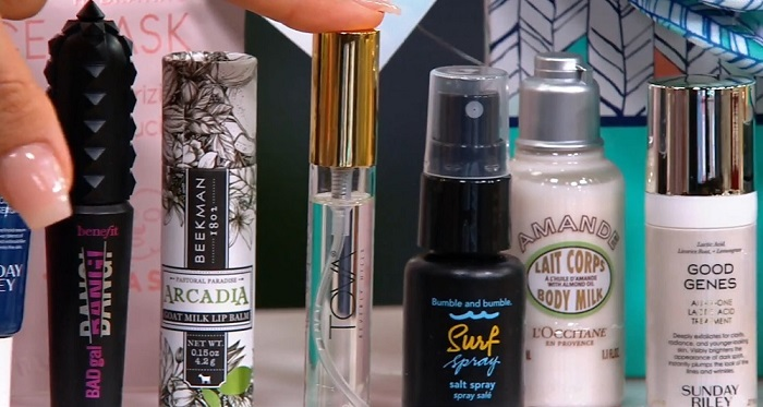 products in the QVC christmas advent calendar