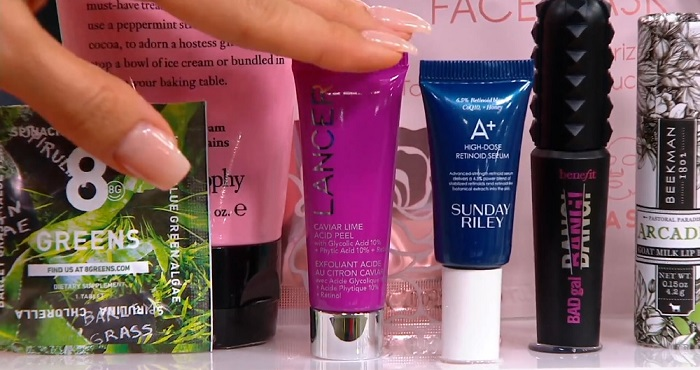 products in the QVC Christmas beauty advent calendar