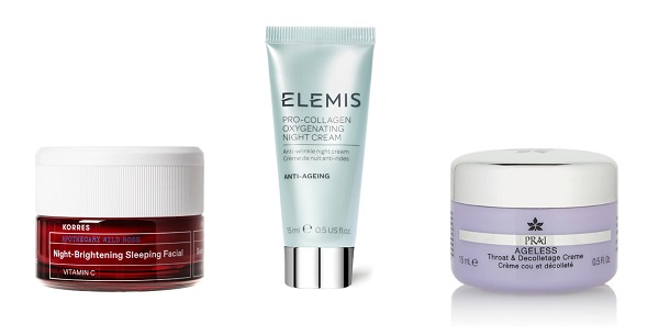 creams and skincare in the feel unique christmas beauty advent calendar 2021