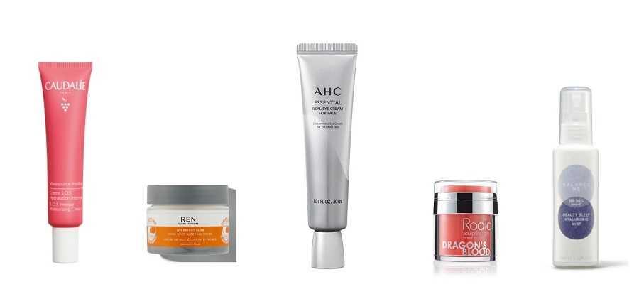 skincare creams in the look fantastic christmas advent calendar 2021